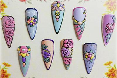 Estructuras de uñas